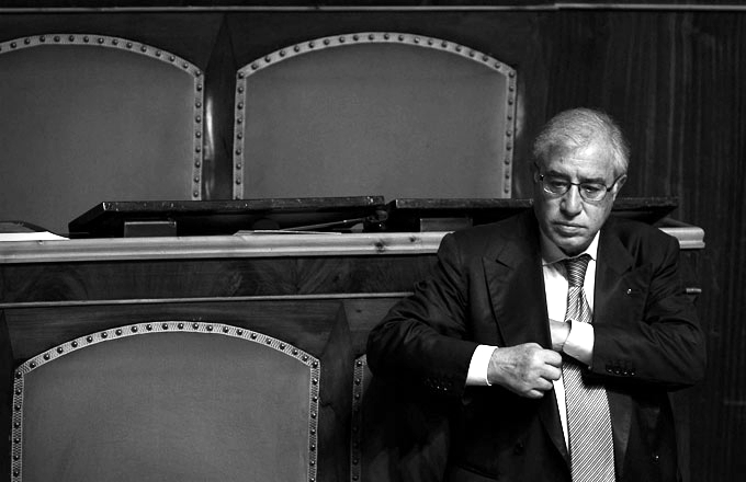 Marcello Dell'Utri durante un debate en el Senado en 2010. Fotografía: Cordon Press.