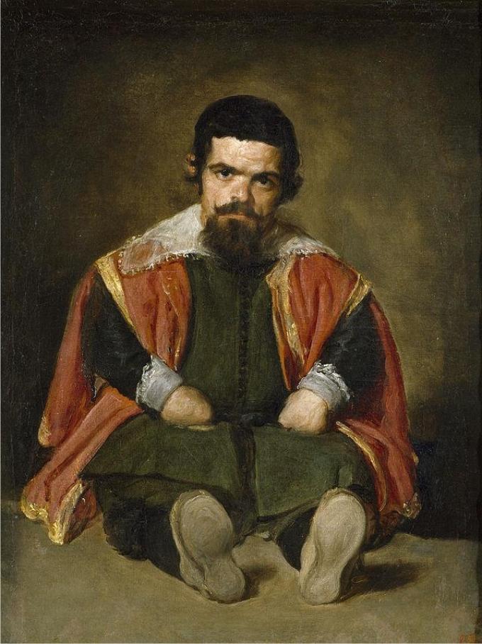 El bufón don Sebastián de Morra, por Diego Velázquez.