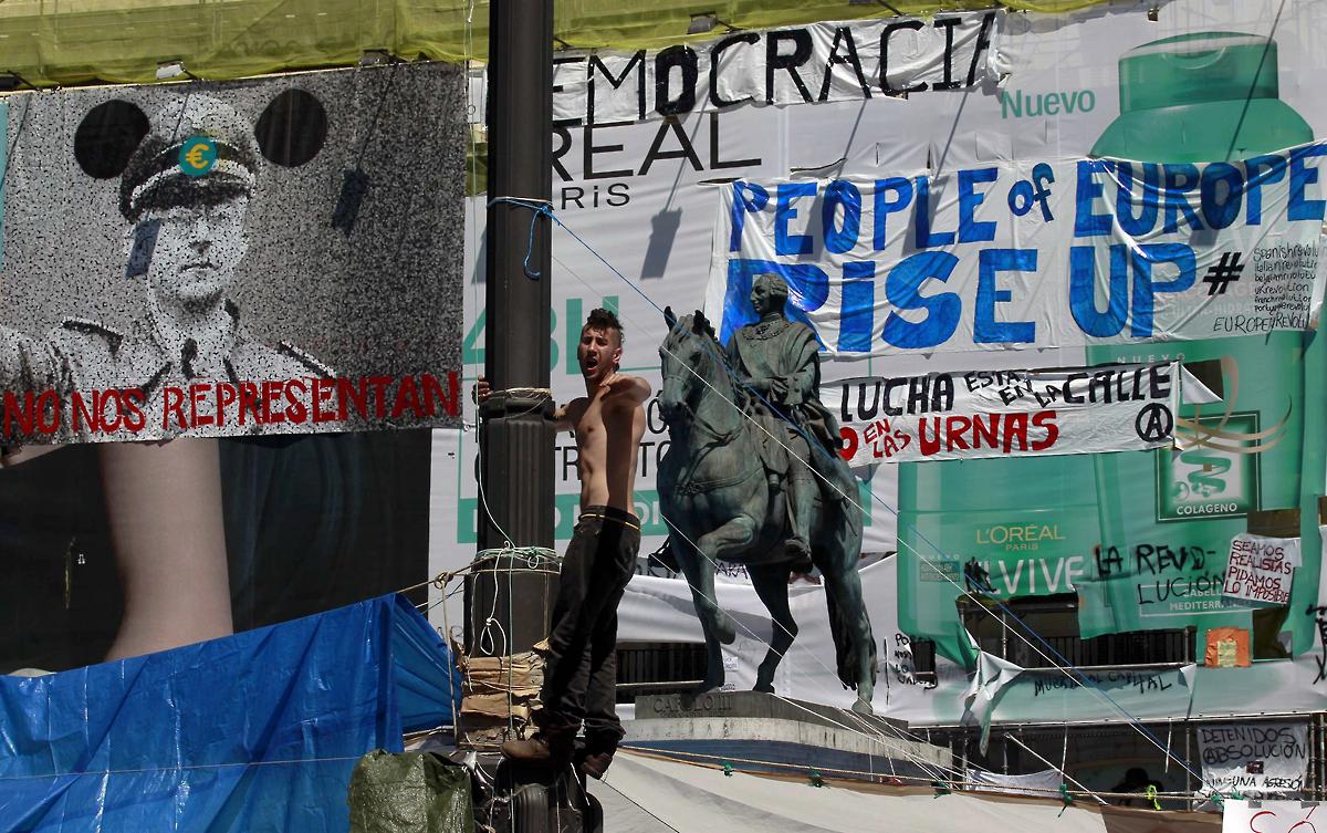 ACO18 SPAIN ELECTION PROTES