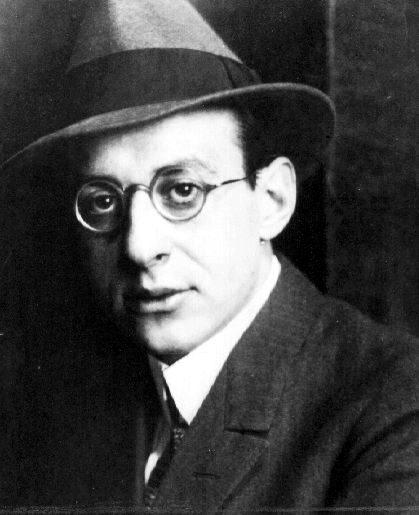 El joven Fritz en 1923. (DP)