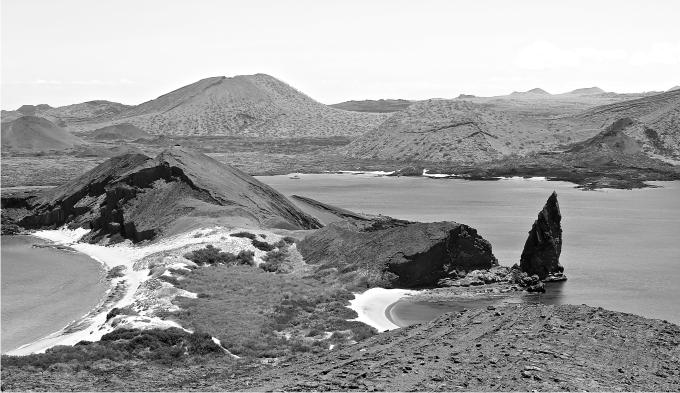 Vista de la Isla de San Bartolomé. Foto: Joaquín Mencía.