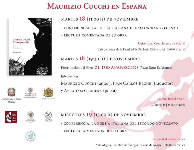Maurizio Cucchi en España