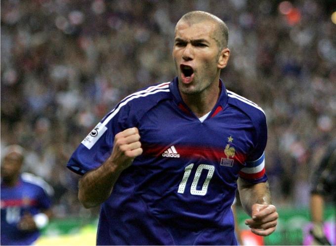 Zinedine Zidane en el Mundial de 2006. Foto: Cordon Press.