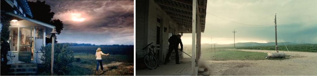 Izquierda: una escena de Encuentros en la tercera fase (Imagen de Columbia Pictures / EMI Films). Derecha: una escena de Interestellar (Imagen de Warner Bros Pictures).