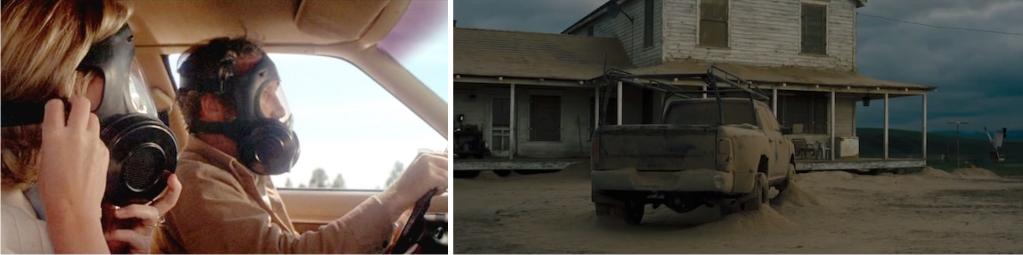 Izquierda: una escena de Encuentros en la tercera fase (Imagen de Columbia Pictures / EMI Films). Derecha: una escena de Interstellar (Imagen de Warner Bros Pictures).
