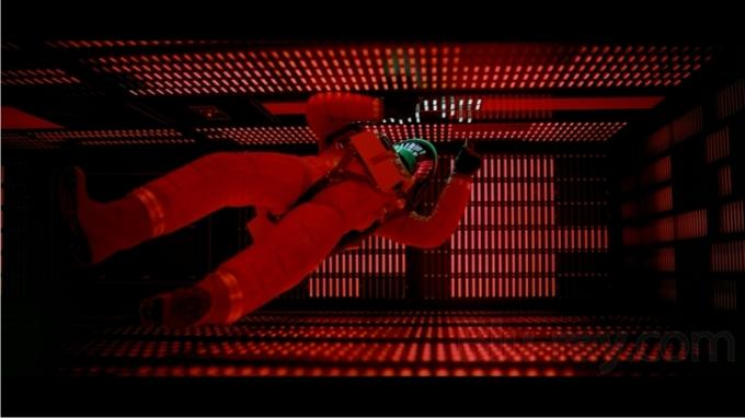 Escena de 2001: una odisea del espacio (imágen de Metro-Goldwyn-Mayer (MGM) / Stanley Kubrick Productions).