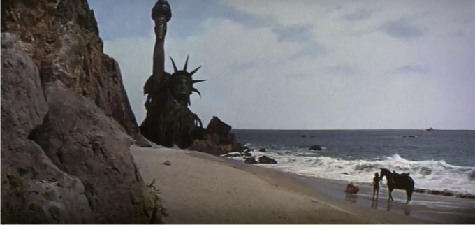 El planeta de los simios. Imagen: 20th Century Fox.