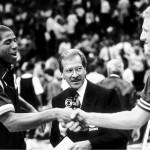 Latarde que el Boston Garden despidió a Larry Bird y Magic Johnson