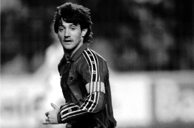 Cuando Bakero ganó la primera Copa de Europa en Kaiserslautern