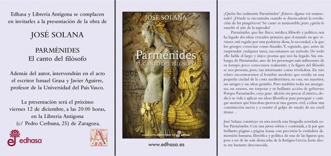 Invitacion Parmenides Antigona