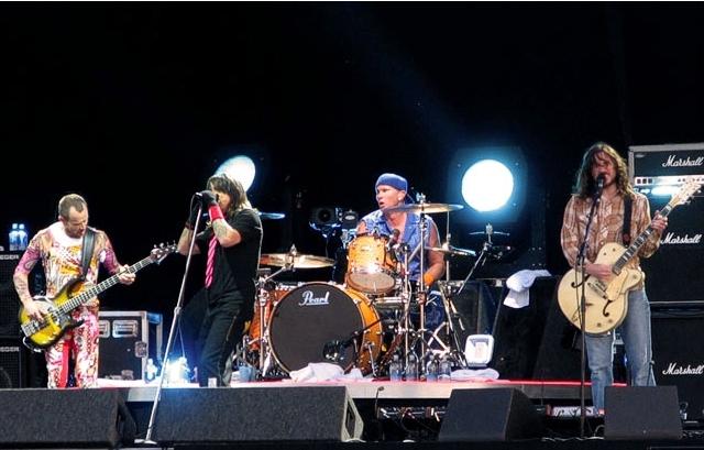 Red Hot Chili Peppers. Foto: xPassenger (CC)