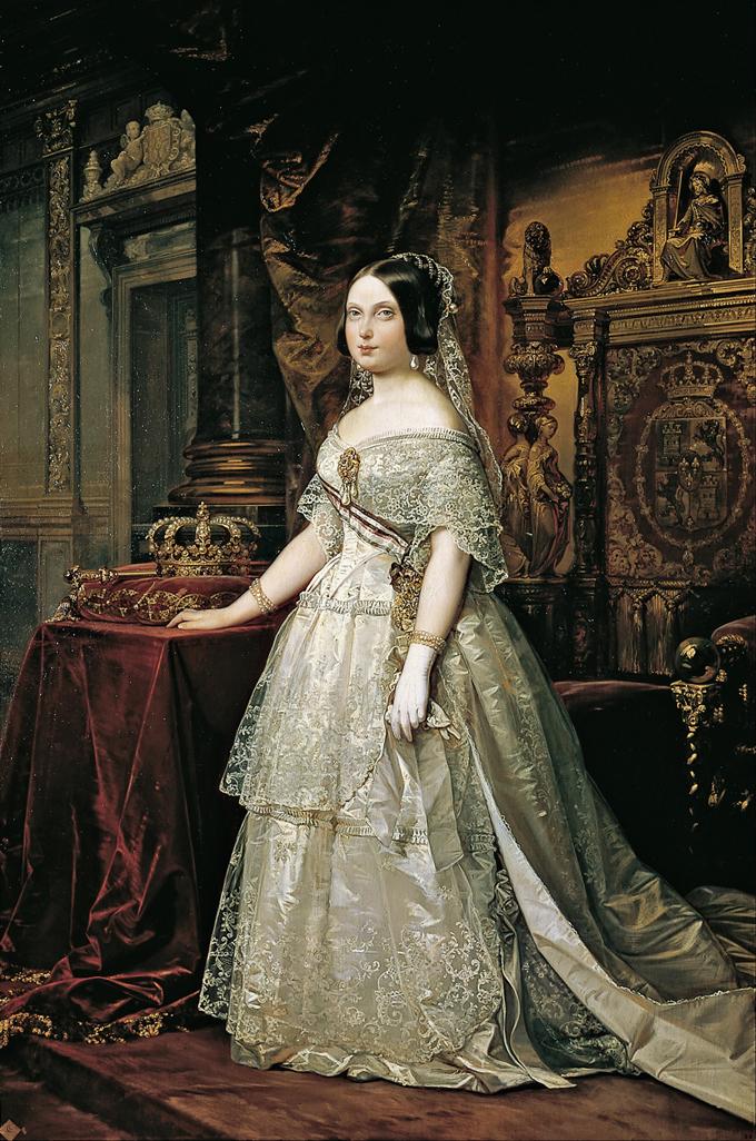 Retrato de Isabel II Federido de Madrazo 1844
