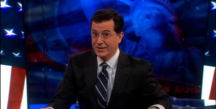 Stephen Colbert. Imagen: CBS.