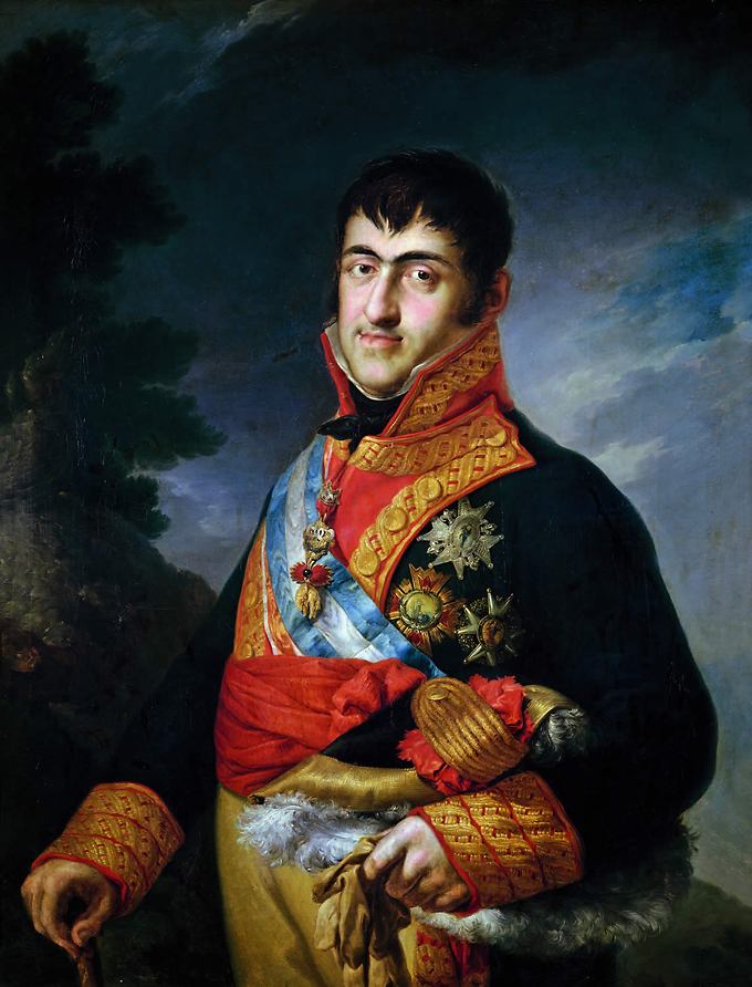Vicente López Portaña Retrato de Fernando VII con uniforme de capitán general ca. 1815
