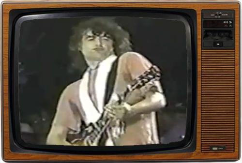 Jimmy Page: Aquí, esperando que se me pase toda la merla (imagen: NBC)