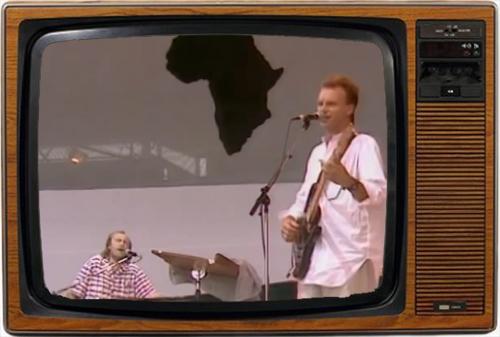 Sting y Phil Collins arrebatados por su propio Arte,