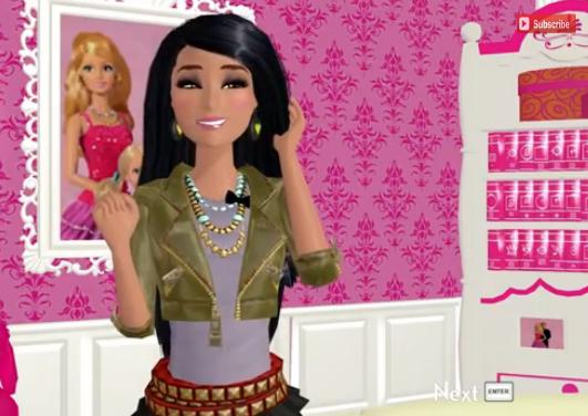 Hagamos un comentario adulto y maduro sobre el juego: la morena está más buena que Barbie.