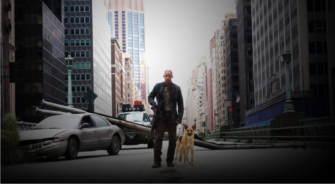 Escena de I Am Legend. Imagen: Warner Bros. Pictures Village Roadshow.