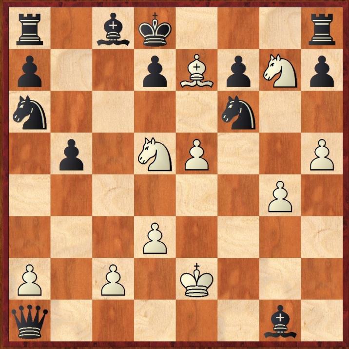 Posición final de la partida inmortal, el canon de belleza del ajedrez