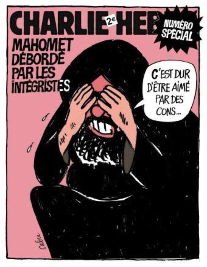 Imagen: Charlie Hebdo.