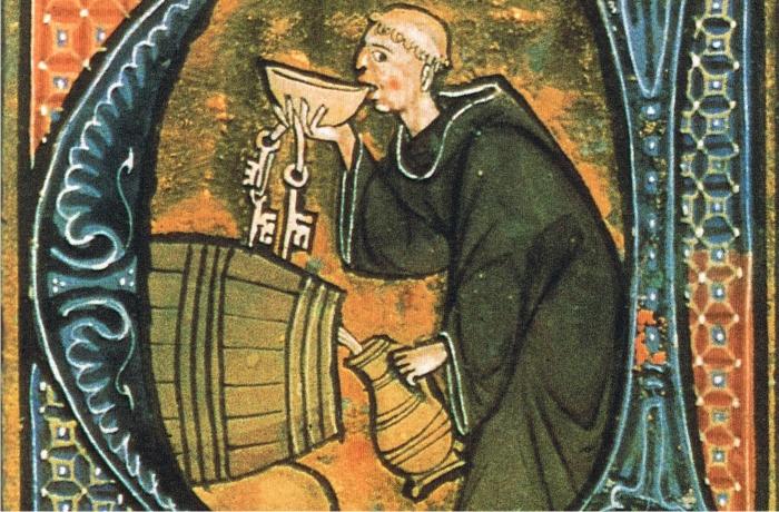 Imagen de Li livres dou santé de Aldobrandino de Siena, finales del siglo XIII.