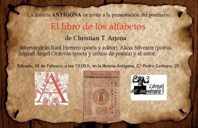 Libro de los alfabetos Invitación