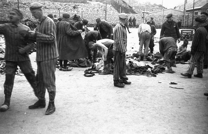 Mauthausen 1941. Fotografía Anónimo Bundesarchiv CC