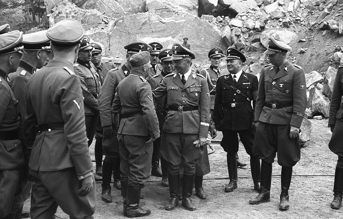 Mauthausen 1941. Fotografía Francisco Boix Bundesarchiv CC 2