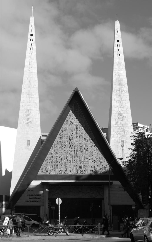 Iglesia del Santísimo Sacramento José María de la Vega Samper. 1966.