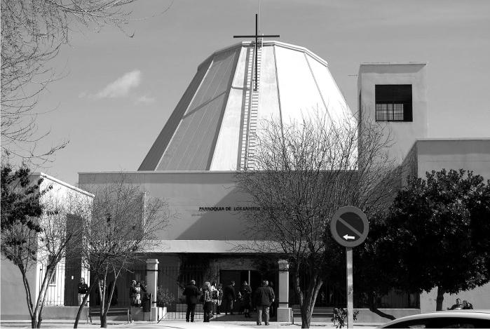 Iglesia de los Santos Justo y Pastor. Benjamin Cano Dominguez y Diego Escario Travesedo. 1997.