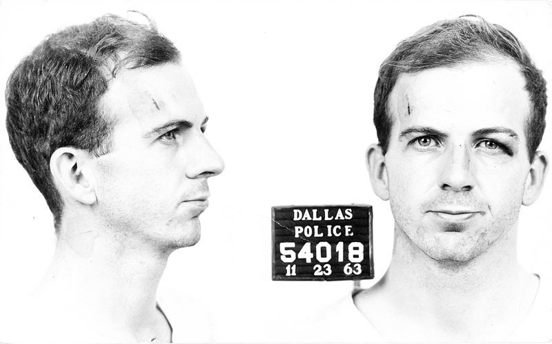 Lee Harvey Oswald. Foto: Dallas Police / Warren Commission (DP)