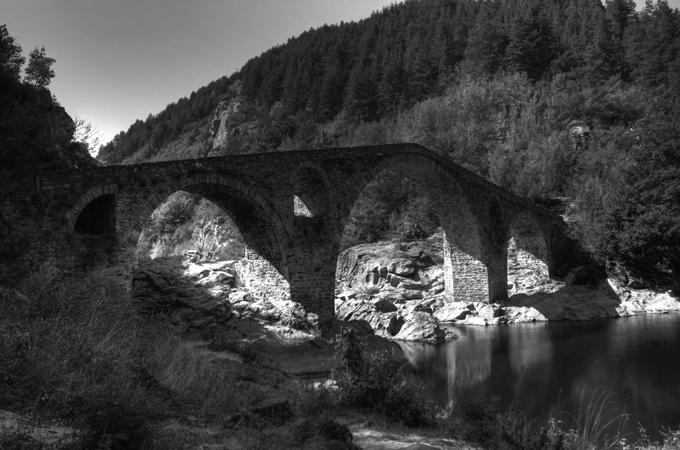 Puente del diablo en Andino (Bulgaria). Fotografía: Klearchos Kapoutsis (CC)