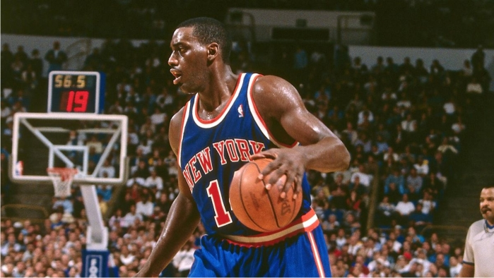 Anthony Mason. Foto cortesía de NBA.