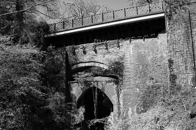 Puente del diablo en Ceredigion (Gales). Fotografía: Alex Liivet (CC)