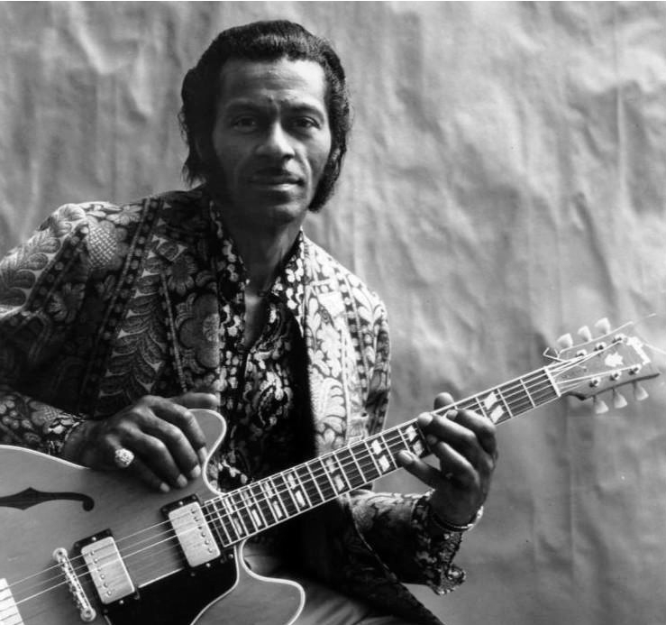 Chuck Berry en 1972. Foto: Chess Records.