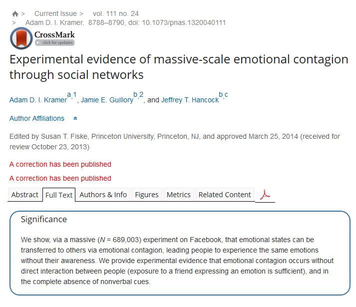 El estudio publicado en PNAS que levantó la polémica