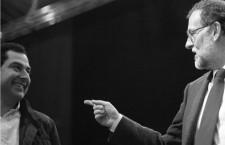 Juan Manuel Moreno Bonilla y Mariano Rajoy. Foto: Cordon Press.