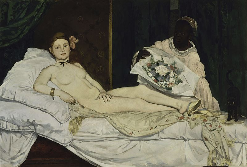 Olympia, de Édouard Manet. (DP)