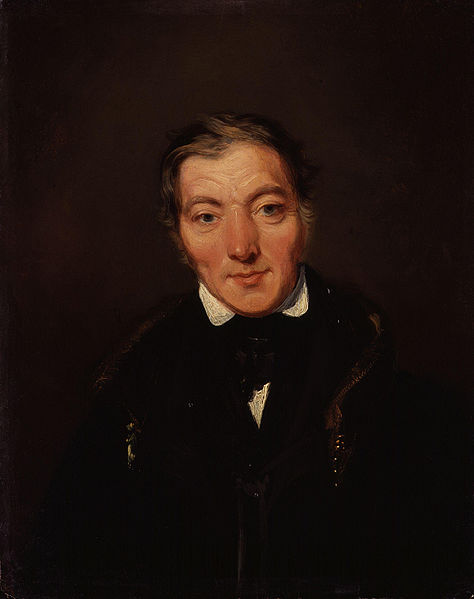 Retrato de Robert Owen por William Henry Brooke (DP)