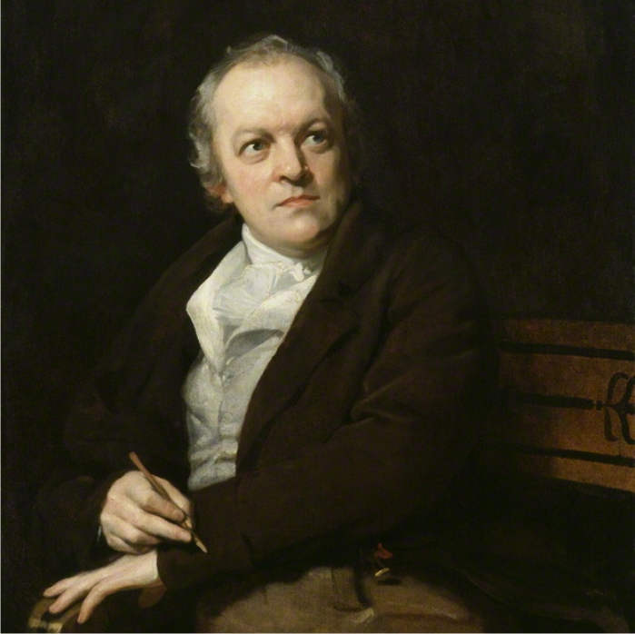 Retrato de William Blake, por Thomas Phillips (DP)