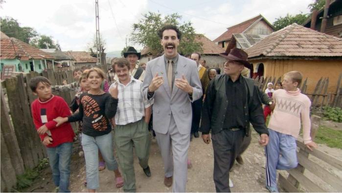 Sacha in da hood. Borat Imagen: 20th Century Fox.