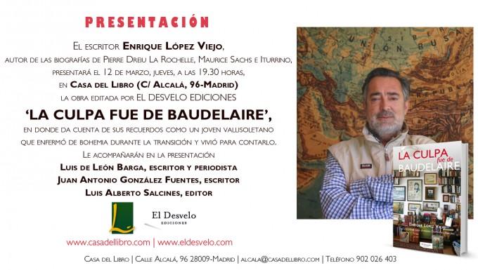 flyer Casa del Libro Madrid