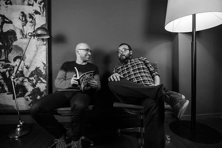 Albert Monteys y Marcos Martín: «No nos conformamos con vivir de la publicidad o donaciones. Queremos vivir del cómic»
