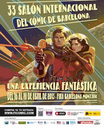 Imagen: Salón Internacional del Cómic de Barcelona