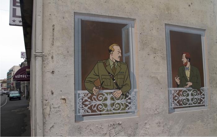 Blake y Mortimer, obra de Julliard (personajes de  E.P Jacobs)