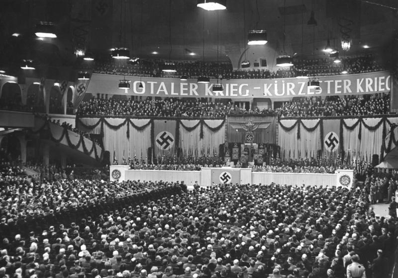 Totaler Krieg – Kürzester Krieg. Fotografía:  Bundesarchiv (CC)