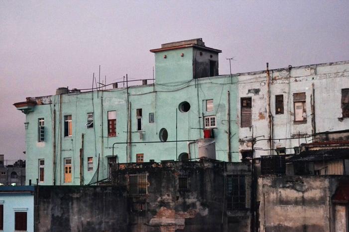 El barrio del Vedado, en La Habana, al amanecer.