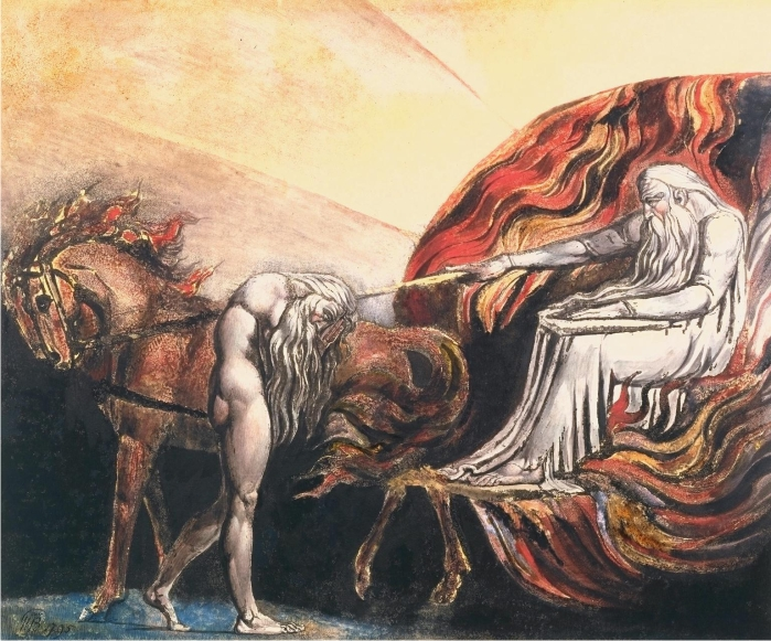 Elohim creando a Adán. William Blake (DP)