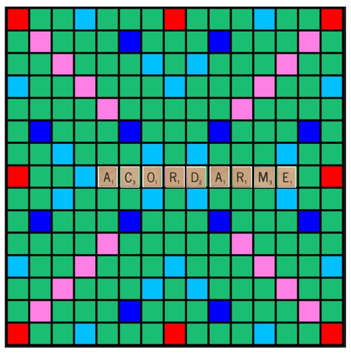 Scrabble, a ver si no me olvido.