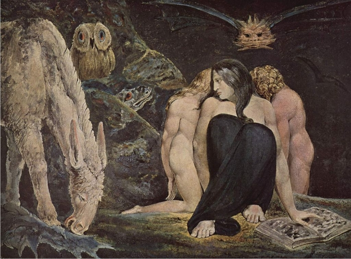 La noche de júbilo de Enitharmon. William Blake (DP)
